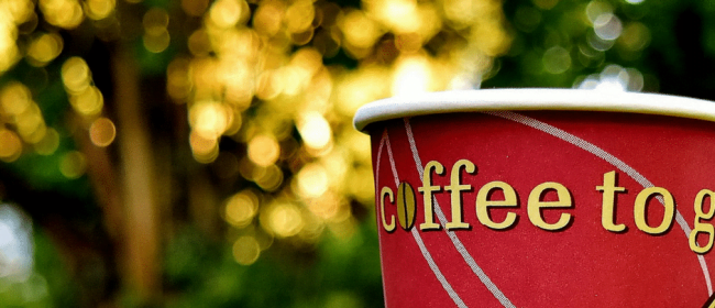Changing Employment Terms   Red Coffee cup in the grass