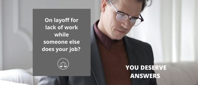 Illegal Layoffs